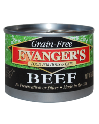 Evanger's Grain Free Beef for Dogs and Cats