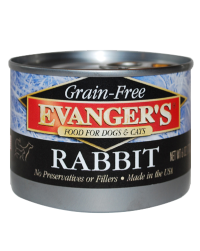 Evanger's Grain Free Rabbit for Dogs and Cats