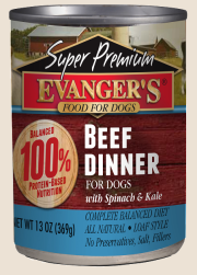 Evanger's Super Premium Beef Dinner