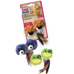 KONG Cat Cozie Catnip Roller Toy