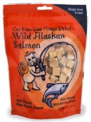 Cat-Man-Doo Life Essentials Freeze Dried Wild Alaskan Salmon